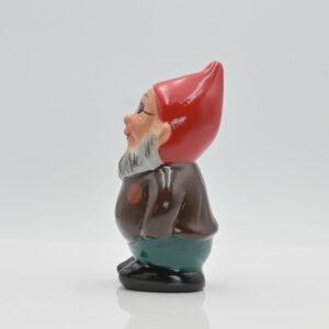 """Zwerg """"Bert der Pirat"""" fotografiert in Seitenansicht"""